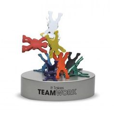 Teamwork can certainly hold these clips!  Check out this cool desk accessory from Successories.com.  Get this and other great items with your rebate from RebateBlast.