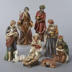 Still searching for a Nativity Scene - 9-Piece Classical Porcelain Christmas Nativity Figure Set