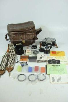 Minolta SRT101 Camera w/ Accessories