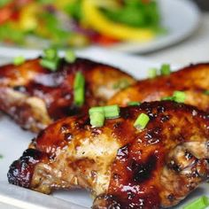 Honey Chicken Breasts with Soy Sauce
