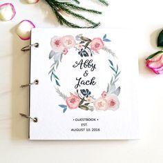Libro 50 páginas personalizadas / blanco boda libro de visitas / //Floral recuerdo boda invitados regalos de boda libro de Bielyse en Etsy https://www.etsy.com/mx/listing/466014741/libro-50-paginas-personalizadas-blanco