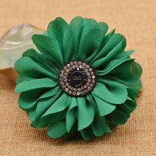 1pc Elegant Flower Shoes Ornament Shoe Buckle Clip Remoavle for Wedding Bradial