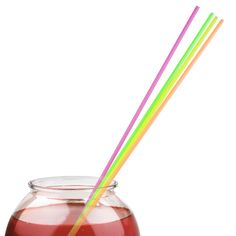 Giant Straws Neon 20inch