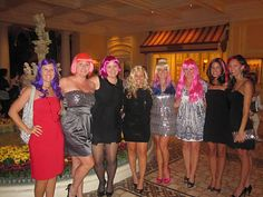 Bachelorette Idea: Everyone wears a different crazy wig...