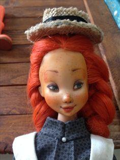 La mia Anna dai capelli rossi - My Anne of green gables #dollrepaint #ooak