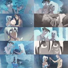 Milo and Kida -- Atlantis: The Lost Empire || ngl they're so underrated but this is my fav disney couple <3