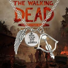 Angel Wing Necklace – The Walking Dead Goodies ☠☣☠☣☠☣☠ Are you are true Walking Dead fan? Prove it and wear this cool bracelet! It can be yours now with a 36% discount. Check it here http://twdgoodies.com/product/angel-wing-necklace/