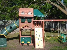 Big Backyard Swing Sets Picture
