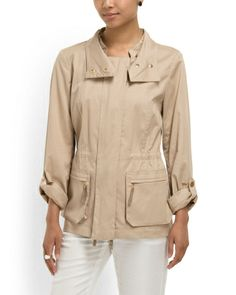 "Cotton Safari Jacket  ( I already have several ""safari"" style jackets....but wow I love this one!)"