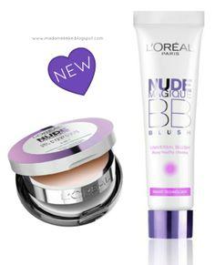 L´Oréal Nude Magique BB Powder and BB Blush - Beauty News  Madame Keke Fashion and Beauty Blog