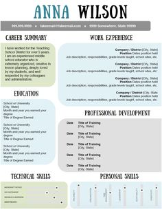 standout resume templates resume sample