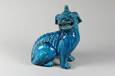 Figure of a Dog, first half of the 19th century. Quing dynasty (1644-1911). China. The Metropolitan Museum of Art, New York. Purchase by subscription, 1879 (79.2.893) #dogs