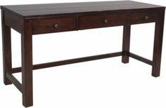Homemakers Furniture: Warm Tobacco Writing Desk: Riverside: Office: Desks