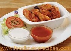 View the mouthwatering menu of Spur family & kids restaurants, it includes delicious starters, meals for sharing, steaks, ribs & more. Food Network Recipes, Real Food Recipes, Cooking Recipes, Healthy Recipes, Healthy Foods, Chicken Wing Sauces, Chicken Recipes, Chicken Wings, Wing Recipes