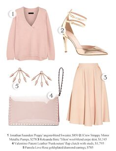 A Rosy Outlook | Shop the Looks | Style.com