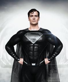 Fotos Do Superman, Batman And Superman, Superman Henry Cavill, Superman Black Suit, Javier Sanchez, Dc Comics Vs Marvel, Superman Characters, Hq Dc, Sexy Geek