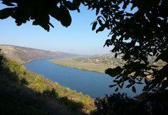 Flusslandschaft in Moldawien