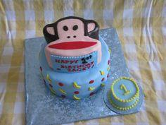 Paul Frank Bday cake.