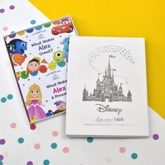 Create a positive and dream-filled environment for your little reader when share these personalized Disney books with them. Familiar faces and fun colors light up your little one's face and the board book design is sturdy in their small fingers. Personalised Childrens Books, Unique Gifts, Great Gifts, Horrible Histories, Books To Read, Children's Books, Book Design, Light Colors