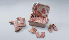 Disturbing Insides Of Leather Objects By Chinese Sculptor   Bored ...
