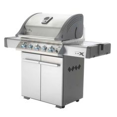 Napoleon Propane Gas Grill with Built In Ice Bucket and Cutting Board Listing in the BBQ,Garden, Yard & Plants,Home & Garden Category on eBid United States | 149219491