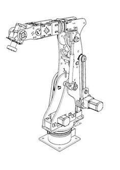 Diy Robot, Robot Arm, Futuristic Technology, Futuristic Cars, Industrial Robots, City Drawing, Robot Design, Cnc Plasma, Stepper Motor