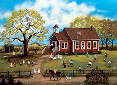 Mary Singleton Painting -Recess