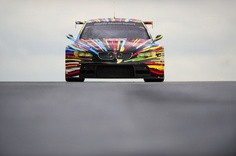 Team BMW Motorsport, BMW M3 GT2 Art Car designed by Jeff Koons, 2010 Le Mans 24 Hours