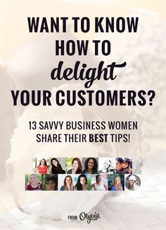 Great small business tips from successful women on how you can impress your customers and look like a professional. A must read for the entrepreneurs, freelancers, Etsy shop owners, and other creatives. business tips #succeed #business