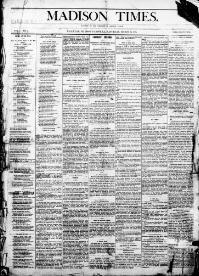 MADISON PARISH, Louisiana - Tallulah - 1884-1888 - Madison Times  « Chronicling America « Library of Congress