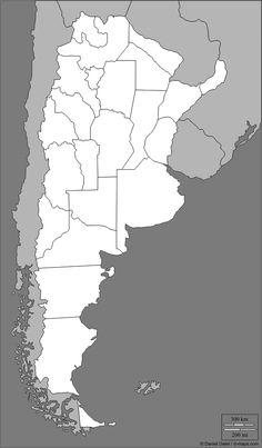 mapa mudo de argentina para imprimir