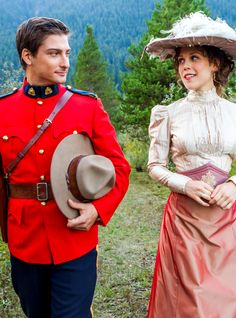 When calls the heart - mountie love I can't to see this tonight!. <3.
