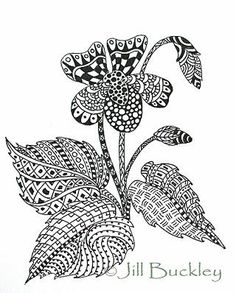 403 Best Art Zentangle Plant Images Leaves Visual Arts Art