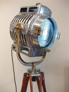 theatre stage light- The perfect home decor for an aspiring technician like myself :)
