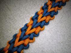 Rawk's Knotorials: Knotorial 03 - The Scissor Stitch (Bracelet)