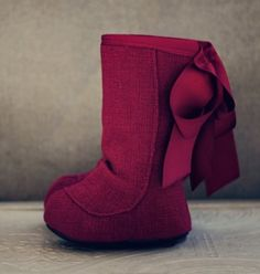 mini boots! too cute.