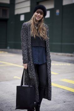 nasty gal, long cardigan, coatigan, new york, fall, boots, black, fashion, new york blogger