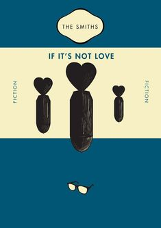 Smiths songs as book covers.