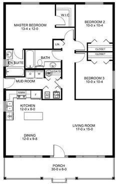 House Plan | Floor Plan with Sq. Ft., Bedrooms, Bathrooms