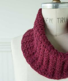 Ravelry: Vineyard Cowl pattern by Churchmouse Yarns and Teas