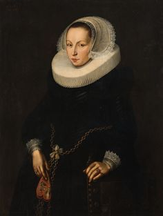 Netherlandish School, Portrait of a Lady, Auction