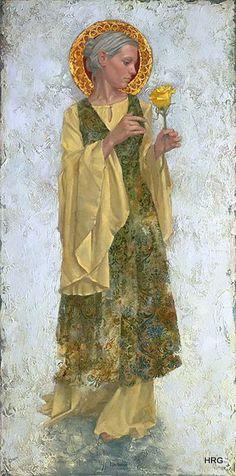 James Christensen - The Yellow Rose Canvas by Hidden Ridge Gallery, via Flickr