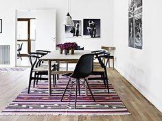 Décor do dia: sala de jantar minimalista Morada dinamarquesa tem perfume moderno