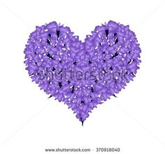 Stock Images similar to ID 7905628 - violet heart