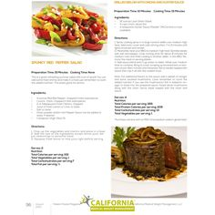 Original Recipes For Dieters From California Medical Weight Management - Grilled Sirloin With Onions Healthy Beef Recipes, Advocare Recipes, Diet Recipes, No Calorie Foods, Low Calorie Recipes, Protein Diets, High Protein, Weight Watchers Meals, Original Recipe