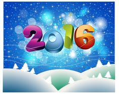 Happy New Year 2016   Happy new year 2016 Free vector in Adobe Illustrator ai ( .ai ) format ...