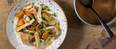 Kylling i hvitløkssjy med rotgrønnsaker