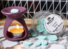 Vonné fazuľky 😍 Jedna fazuľka vám hravo postačí na prevonanie celého domova ♥️ #kouzlokoupele #prirodnakozmetika #handmade #crueltyfree #veganfriendly #vonnevosky #sojovesvicky #sviecky #kuzlokupela Tea Lights, Candle Holders, Bee, Fragrance, Coconut, Candles, Honey Bees, Tea Light Candles, Porta Velas