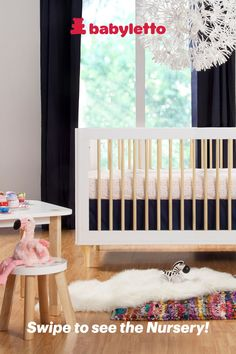 babyletto 4-Piece Mini Crib Set-Desert Dreams