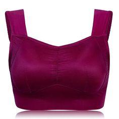 0c7120e50b3cc Comfortable Milk Silk Seamless Vest Bras Breathable No Rims Bra